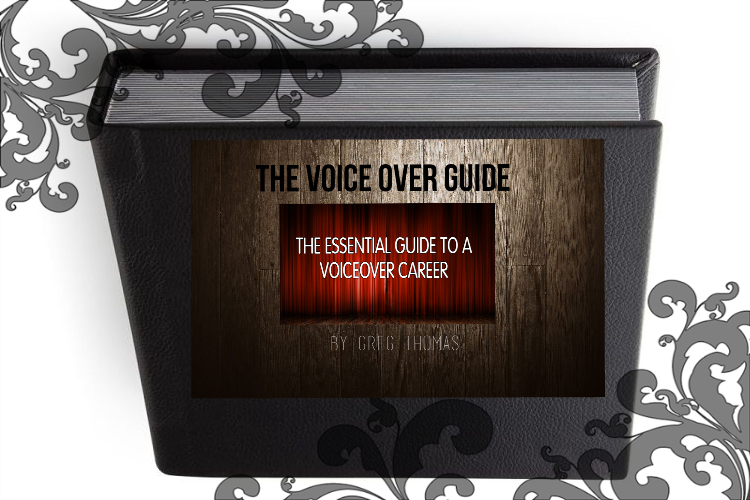 Book cover pic voice over guide greg thomas author